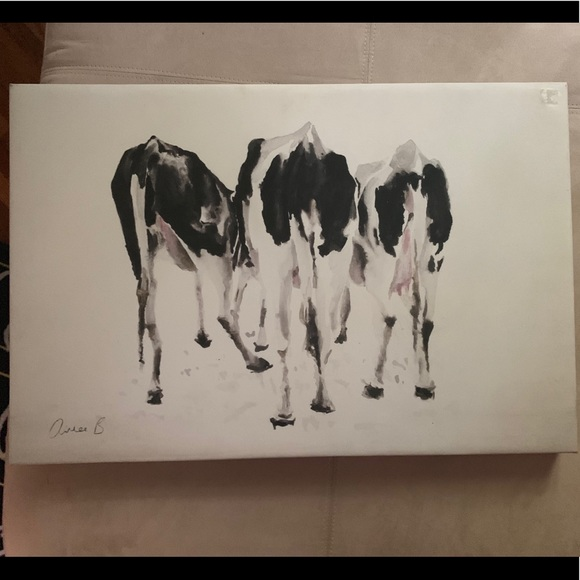 Hobby Lobby cow wall art